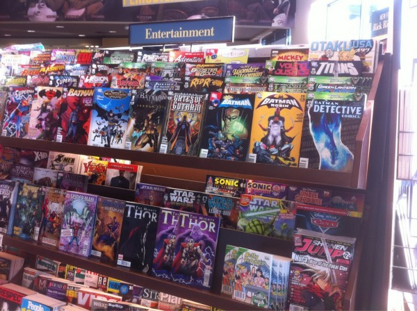 Les Comics peinent à séduire dans les librairies ! dans Genres (romans, essais, poésie, polar, BD, etc.) collections, beaux livres BN