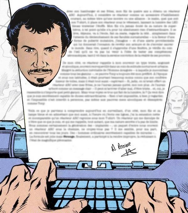 Alexandre Astier signe la préface de Nos Années Strange ! dans À paraître Alexandre_Astier