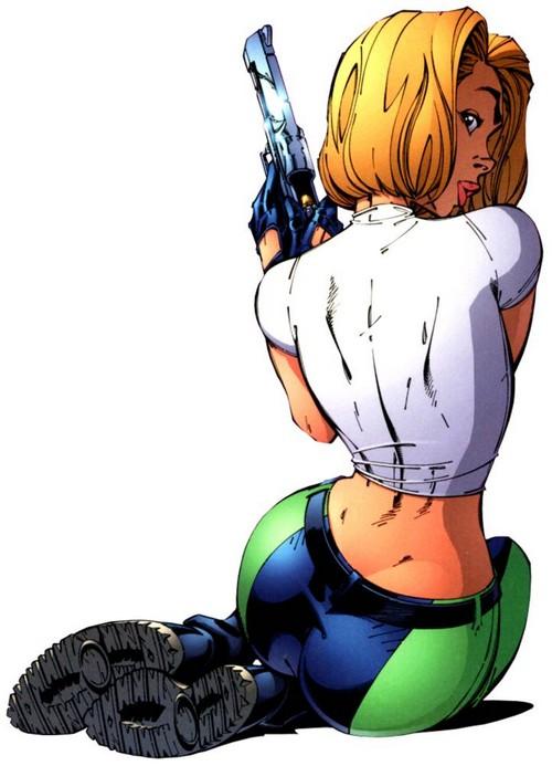 J scott campbell danger girl revolver