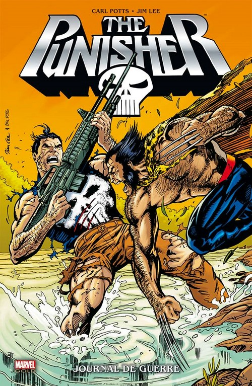Punisher War Journal de Jim Lee sort aujourd'hui