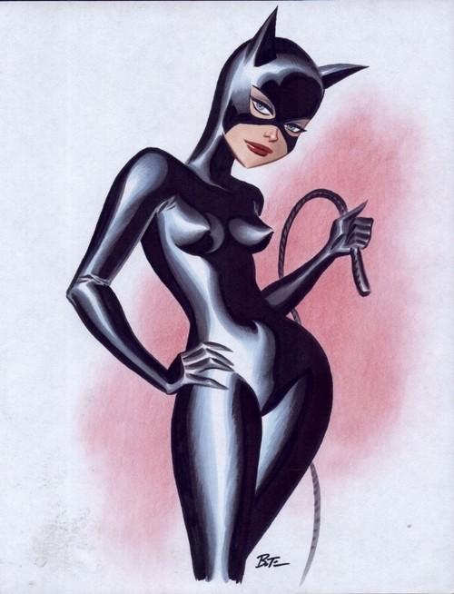 Catwoman Dessin Animé