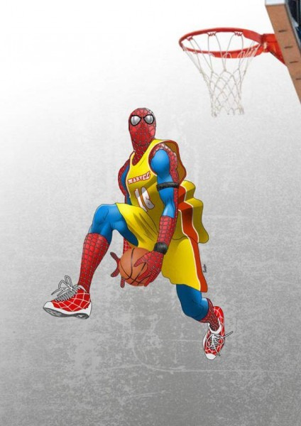 spiderman-basketball