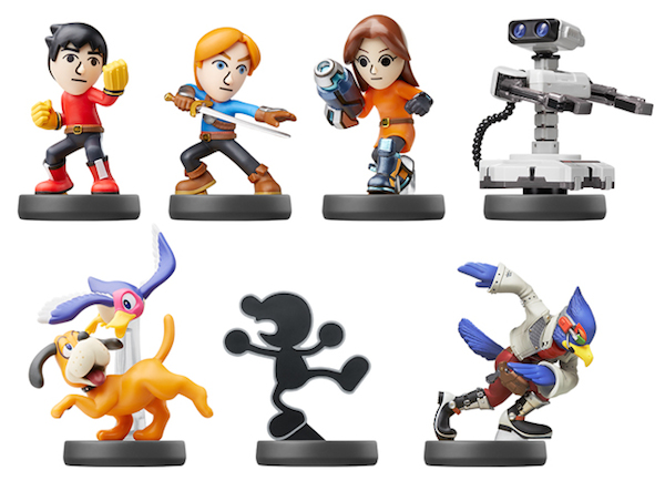 amiibo Collection Super Smash Bros 6