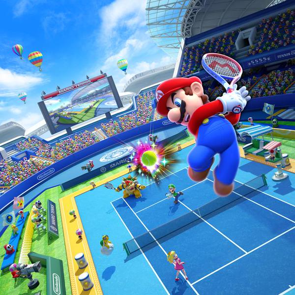 Mario Tennis Ultra Smash 600