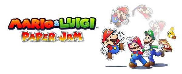 Mario et Luigi Paper Jam