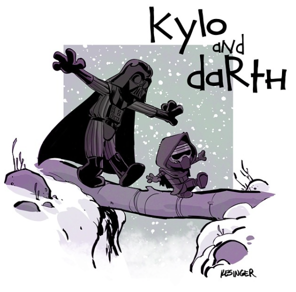 Kylo and Darth 1