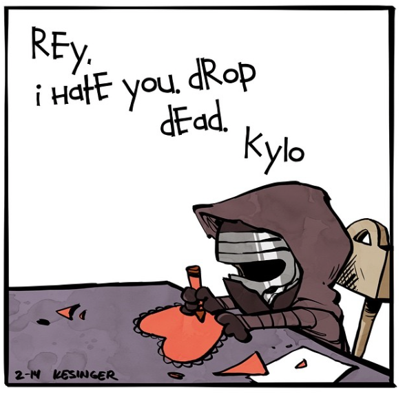 Kylo and Darth 4
