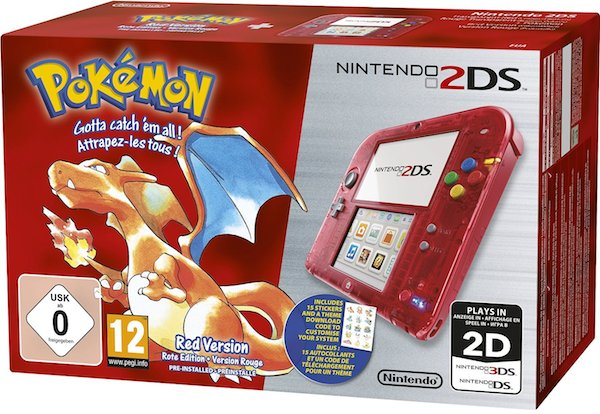 pokemon rouge 2ds