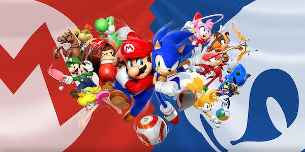 Mario Sonic Aux Jeux Olympiques De Rio 2016