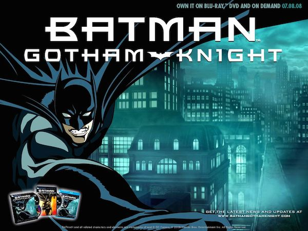 Batman-Gotham-Knight DVD