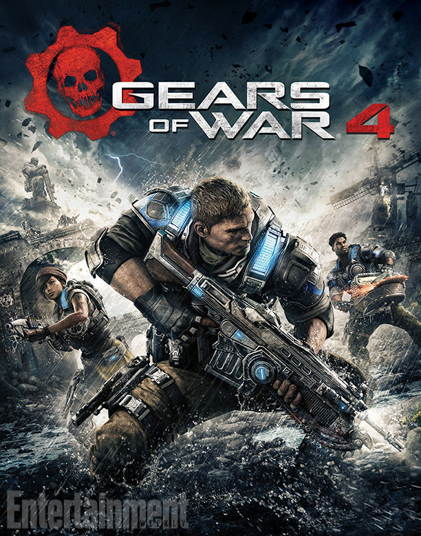 Gears of War 4 vertical
