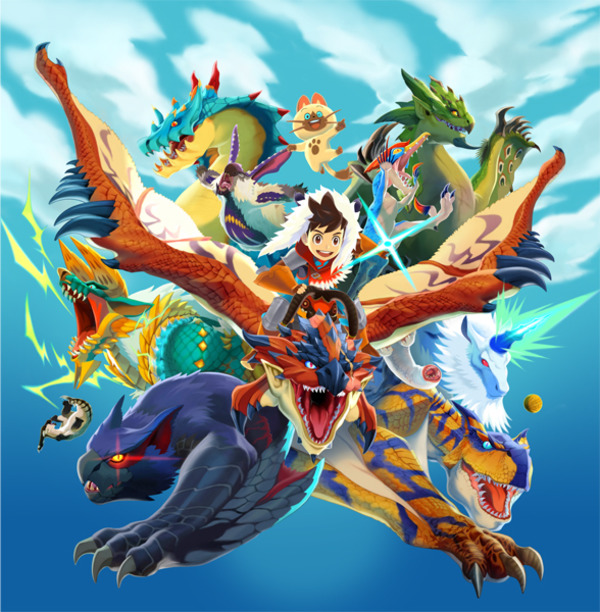 Monster Hunter Stories 600