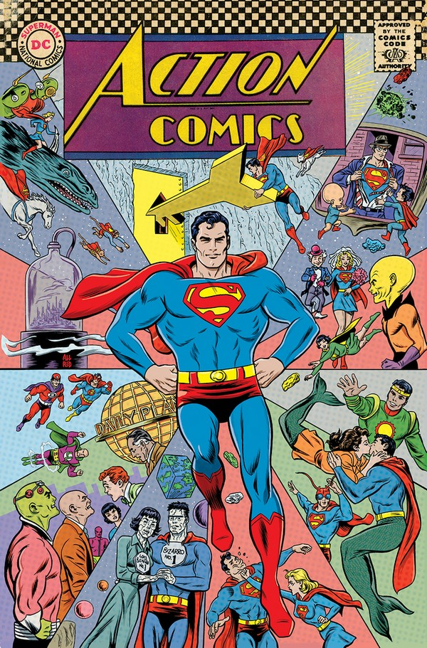 action-comics-1000-mike-allred-1960s-variant-vo